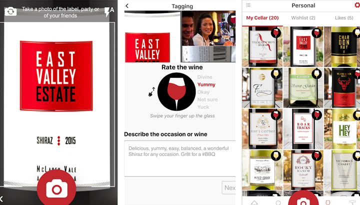 Apps de vinos Toast Wine