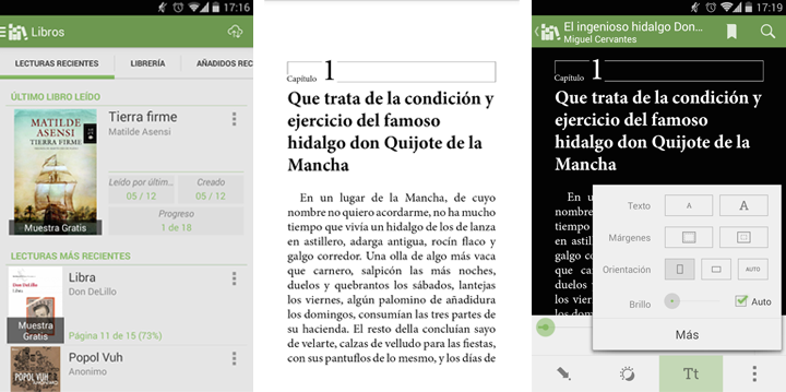Apps de libros Aldiko Book Reader