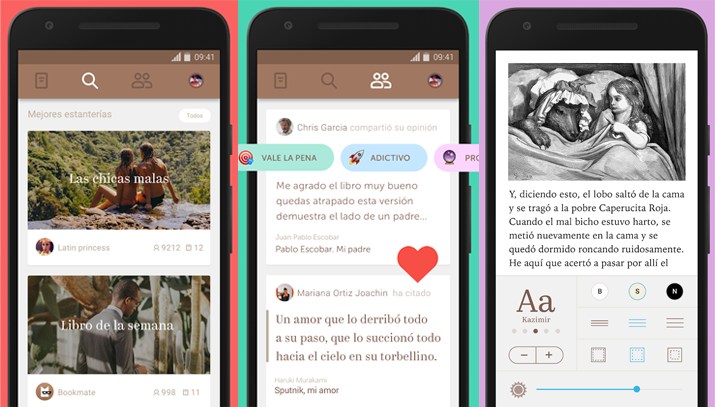Apps de libros Bookmate