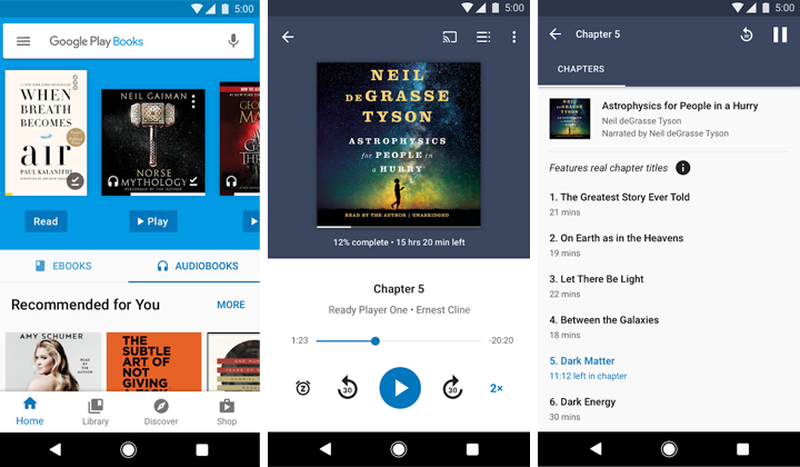 Apps de libros Google Play Books