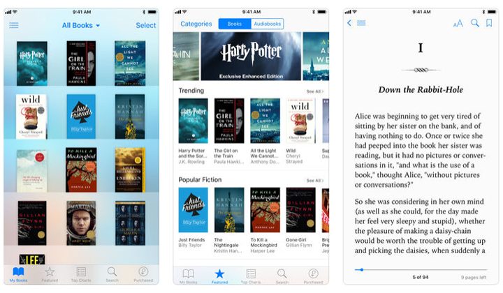 Apps de libros iBooks