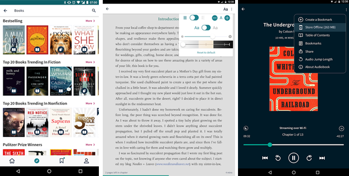 Apps de libros Scribd - Reading Subscription