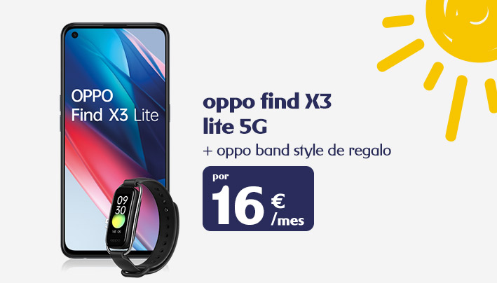 Oppo Find X3 Lite + Oppo Band Style